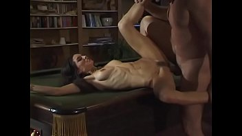 Rebecca Lord fucked in the ass at the stairs and at the pool table pornhub video