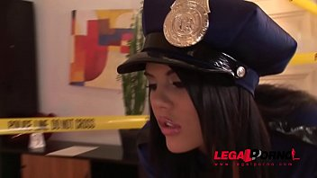 Office sex trailer - Crime scene doesnt stop officer madison parker from hardcore ass fucking gp128