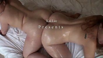Kai Lee And Friends Playing With Their Oiled Big Booties | Www.videosfap.com