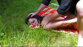 Pig dick - Pic-nic and a strong fuck for a french brunette