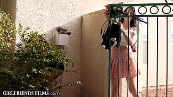 Lesbian Teen Gives Straight Friend Quivering Orgasm - - GirlfriendsFilms 23 min