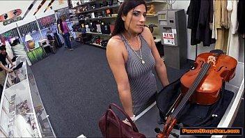 Brazilian MILF sells big instrument for a big cock