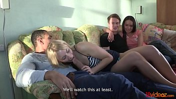 18videoz - Cream And Coffee Home Sex Party Lindsey Olsen, Nataly Gold