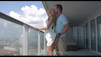 PASSION-HD Katrin Tequila massage and anal fucked in high rise condo