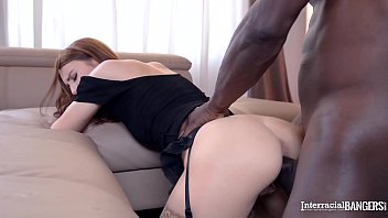 Interracial XXX Action With Brunette Teen Timea Bela Fucking Black Dick