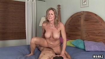 Cougar with small tits - Wankz- cougar jade jamison loves her warm facial