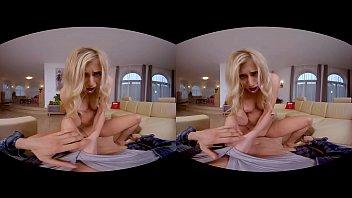 VRHUSH Hot blonde Lindsey Cruz begging to be fucked in POV