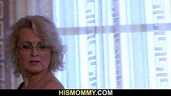 Granny Seduces Her Son's Snoozing GF