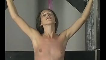 Breasty Angel Spanked