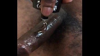 Solo BBC masturbating