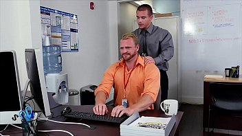 GRAB ASS - New Employee Gets Broken In By The Boss, Adam Bryant
