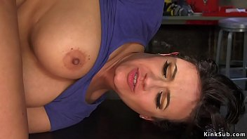 Lesbian carpenters anal banged by Milf
