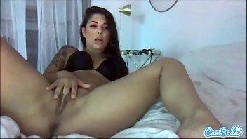 CamSoda - Gina Valentina Fingers her juicy pussy and masturbates