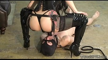 Asian dominas nyc Japanese dominatrix makes slavery lick the ass and suck the strapon