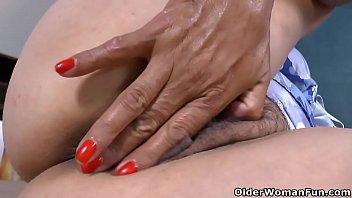 An older woman means fun part 394