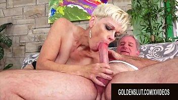 Golden Slut - Older Ladies Show off Their Cock Sucking Skills Compilation 3 video