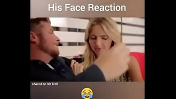 Shocked woman fucked - Shocking reaction by man before...