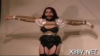 Forced naked females Bulky female fastened up and forced to endure bdsm xxx