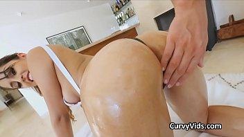 Anna sophia robb bikini shots - Oiled latina booty pounded from behind