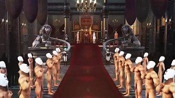 表では偉そうな皇帝嫁達も裏ではだんな様(あなた)のちんぽドレイにすぎなかった件についての動画