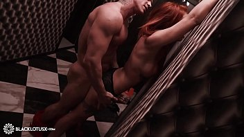 Redhead Blowjob Big Dick Stranger and Rough Sex in the Hallway صورة
