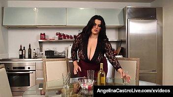 Cuban BBW Angelina Castro Has Threesome With Roberta Gemma! 10 min