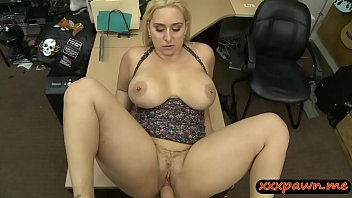 Big ass and big tits woman nailed hard