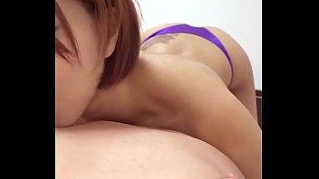 パイズリフェラ乳首攻めの快感ループ 縦型動画 044 ~1