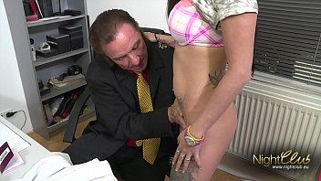 Tattooed German Amateur fucked by big dick 9 min