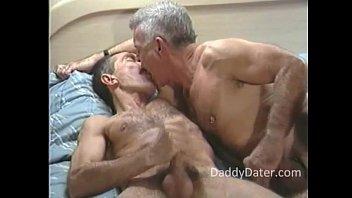 2 Gay Hung Hairy Executive Daddies