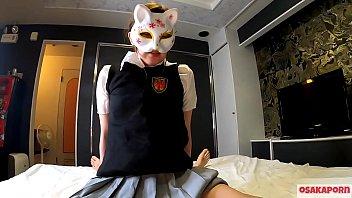 逸材 Sexのために生まれた雌狐と交尾2 学生服でガチイキまくり ドエロ 21歳に中出し セーラー服 絶頂 コスプレ ヤリマン ビッチ アクメ 学生 制服 つるぴた 素人  本番 Ver さくら 7 Osakaporn