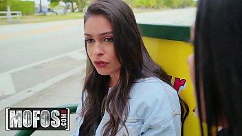 (Katana Kombat, Serena Santos) - Taking A Different Route - MOFOS 11 min