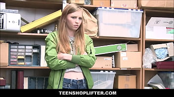 Petite Shoplifter With Tiny Tits Ava Parker Agrees To Fuck Security Guard For Freedom