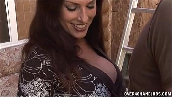 Milf Jerks The Worker 4 min