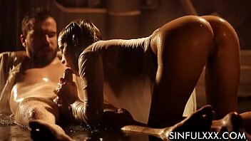 Super wet slow sensual blowjob