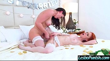 Sexy Teen Lez Girl (dolly&amp_kymberlee) Get Punish By Mean Nasty Lesbo vid-20