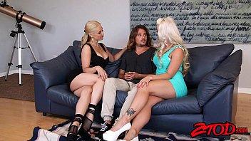 Sarah Vandella and Holly Heart love cougar sandwiches porn image