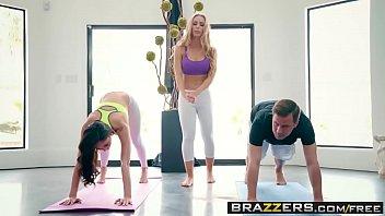 Brazzers - Brazzers Exxtra -  Yoga Freaks Episode Seven scene starring Ariana Marie, Nicole Aniston