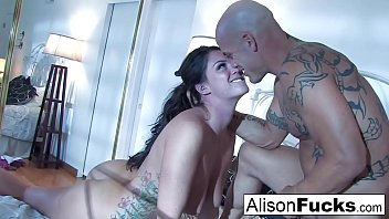 Huge tittied Alison Tyler and her hung male gigolo!