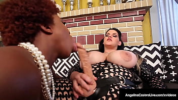 bodacious booties angelina castro and maserati strapon fuck their thick twats