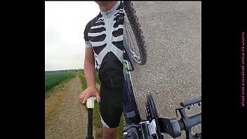 Radfahren ohne Hose