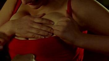 Miriam Giovanelli tit-suck - SEX, PARTY & LIES - Mentiras y Gordas nip slip, tit-sucking, tit-grab, kissing, big tits, nipples, hot actress