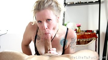 Fucking hippie - Yoga room blowjob