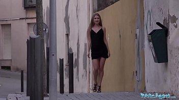 Public Agent Beautiful Russian Mary Rock fucking in a short black dress thumbnail