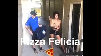 Pizza Felicia  first time going viral