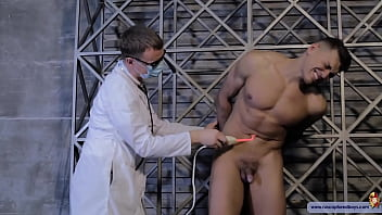 Electro clash gay Slave boy tortured by electro