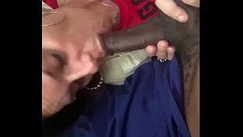 Her man went to work 30 minutes ago at Amazon. Now she sucking my dick while he working 2nd shift 2-11