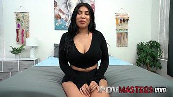 Latina Bubble Butt Beauty Tokyo Lynn Loves Riding Big Dick POV