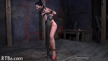 Restrained angel is punished