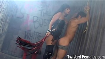Whipped and humiliated by a real dominatrix 8 min